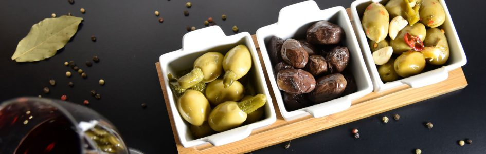 greek premium olives