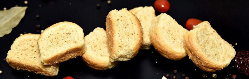 handmade olive oil rusks